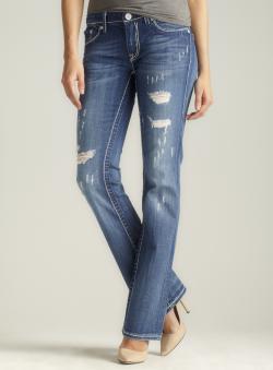 Vigoss Frayed Bootcut Jean