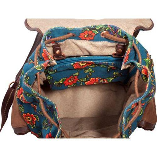 Women's Sakroots Artist Circle Backpack Lagoon True Love - Thumbnail 2