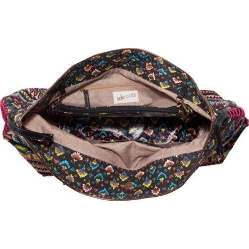 Women's Sakroots Artist Circle Travel Bag Neon One World - Thumbnail 1