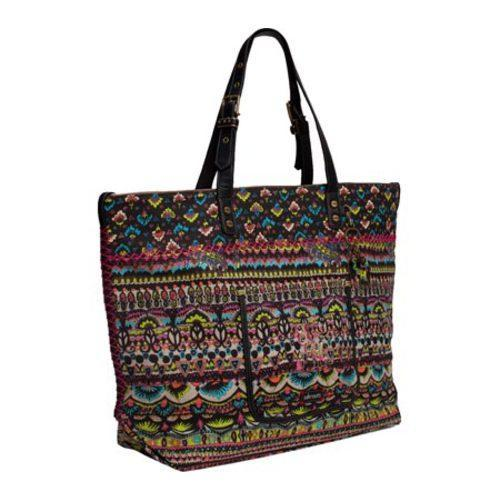 Women's Sakroots Artist Circle Travel Bag Neon One World - Thumbnail 2