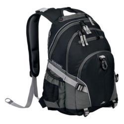 High Sierra Loop Black/Charcoal Tablet Backpack