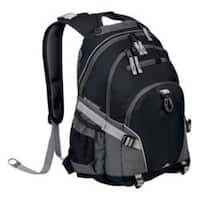High Sierra Loop Black/Charcoal Tablet Backpack