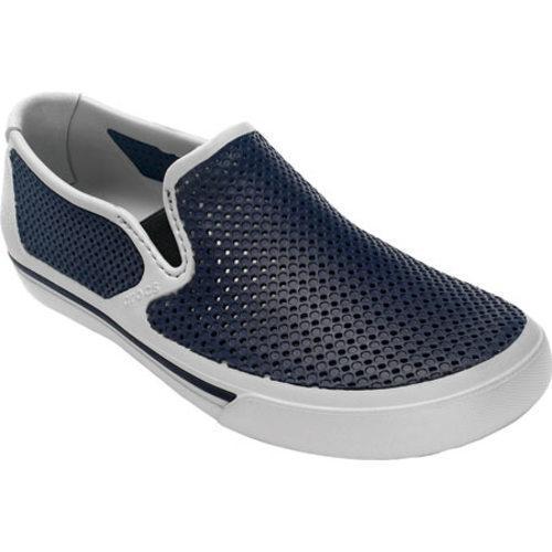Men's Crocs CrosMesh Slip-on Shoe Pearl/Navy