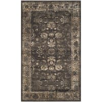Safavieh Vintage Oriental Soft Anthracite Distressed Silky Viscose Rug - 2'7 x 4'