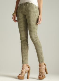 Vigoss Paisley Print Skinny Jean