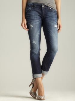 Vigoss Roll Hem Skinny Jean