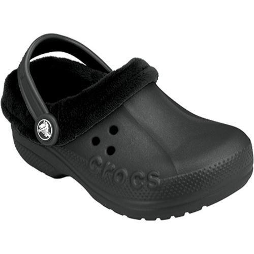 Children's Crocs Blitzen Polar Black/Black