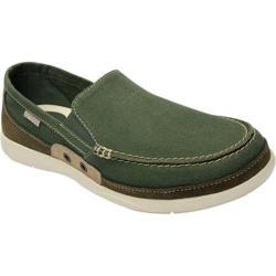Men's Crocs Walu Accent Army Green/Stucco