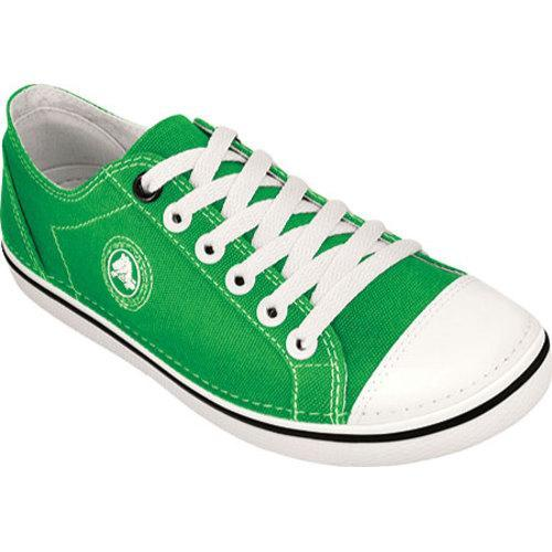 b5bafa5f749c Shop Women s Crocs Hover Lace Up Canvas Lime Oyster - Free Shipping Today -  Overstock - 8199962