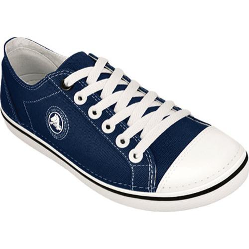 a140d21907f7b0 Shop Women s Crocs Hover Lace Up Canvas Navy Oyster - Free Shipping Today -  Overstock - 8212434