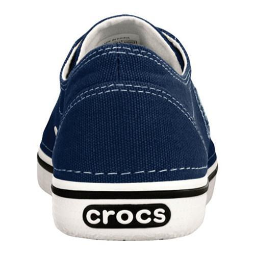 fe017f407dfe29 Shop Women s Crocs Hover Lace Up Canvas Navy Oyster - Free Shipping ...