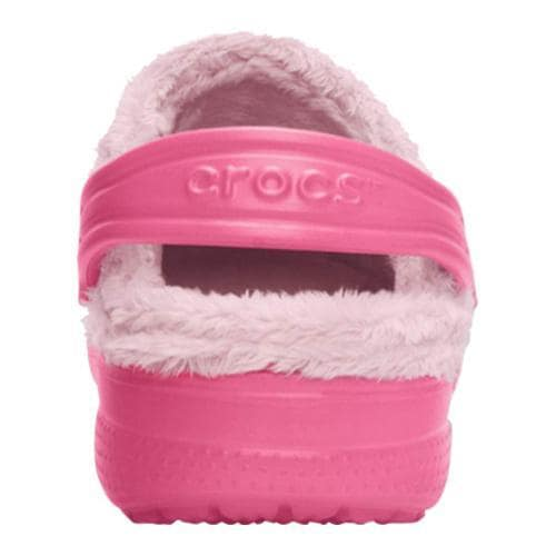 Children's Crocs Baya Fleece Clog Hot Pink/Petal Pink