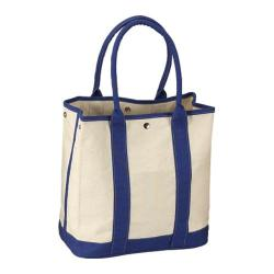 Goodhope 1724 Natural Cotton Canvas Tote (Set of 2) Blue