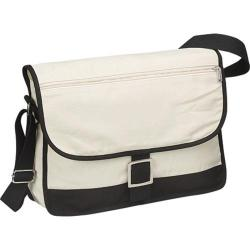 Goodhope 1735 Canvas Messenger Bag (Set of 2) Natural