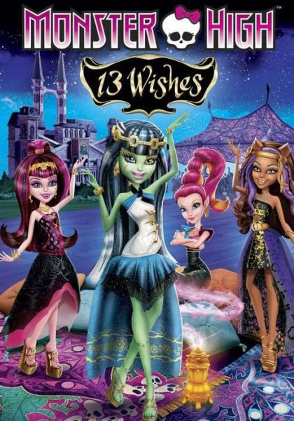 Monster High: 13 Wishes (DVD)