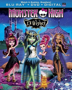 Monster High: 13 Wishes (Blu-ray/DVD)