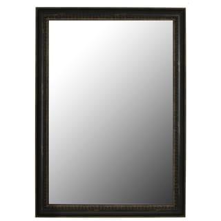 Beaded Copper Black Petite Mirror