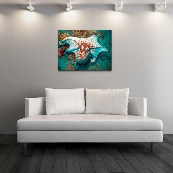 Chris Doherty 'Octopus' Canvas Wall Art