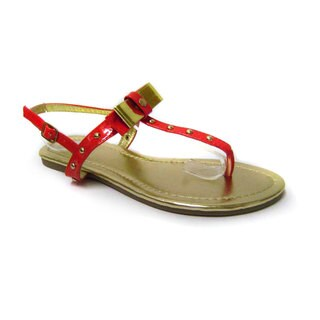 Luv's Women's 'Mikonos' Studded Ankle Strap Sandals (More options available)