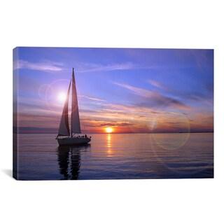iCanvas 'Sailboat' Giclee Canvas Art Print