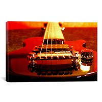 iCanvas 'Electric Guitar' Giclee Canvas Art Print