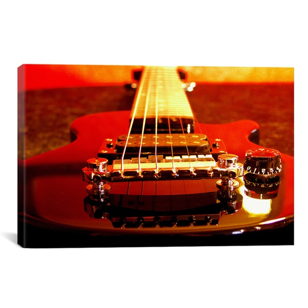 iCanvas 'Electric Guitar' Giclee Canvas Art Print 11461800