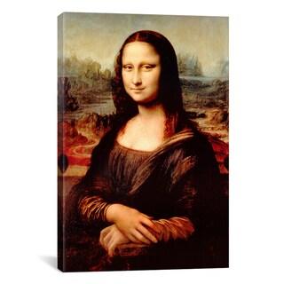 iCanvas Mona Lisa by Leonardo Da Vinci Canvas Print Wall Art