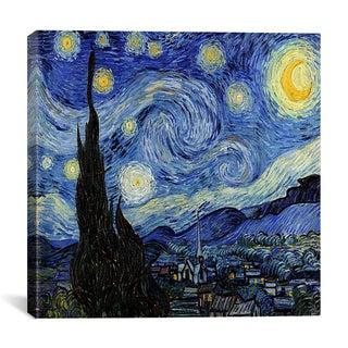 iCanvas Vincent Van Gogh 'The Starry Night' Canvas Wall Art