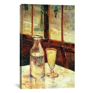 iCanvas Vincent Van Gogh 'The Still Life with Absinthe' Canvas Art