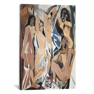 iCanvas Pablo Picasso 'Les Demoiselles d'Avignon' Canvas Art