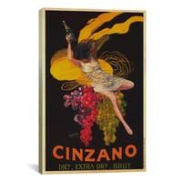 iCanvas Leonetto Cappiello 'Asti Cinzano (Vintage)' Canvas Art