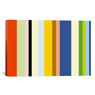 iCanvas 'New York Soho Striped Art' Canvas Art