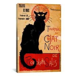 iCanvas 'Tournee du Chat Noir Advertising Vintage Poster' Canvas Art Print