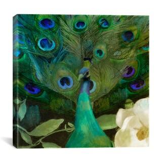 iCanvas Color Bakery 'Aqua Peacock' Canvas Art Print