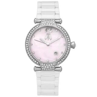 Jivago Women's White Bijoux Watch