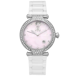 Jivago Women's White Bijoux Watch