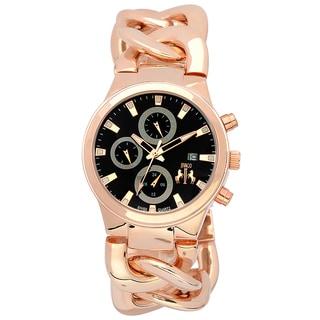 Jivago Women's Lev Gold-tone Stainless Steel Watch