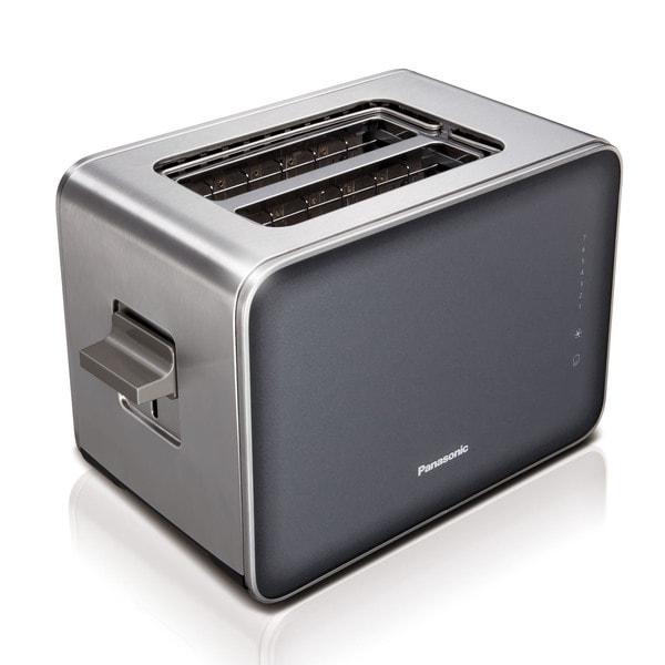Panasonic Smoke Stainless Steel/ Glass 7 Browning Controls Toaster