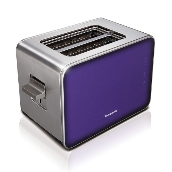 Panasonic Violet Stainless Steel/ Glass 7 Browning Controls Toaster