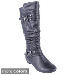 Blossom Women's 'Amar-34A' Mid-calf Boots