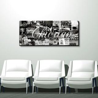 Alexis Bueno 'Chicago' Canvas Wall Art