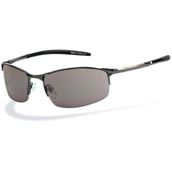 Piranha Men's 'Fuel' Gunmetal Sport Sunglasses