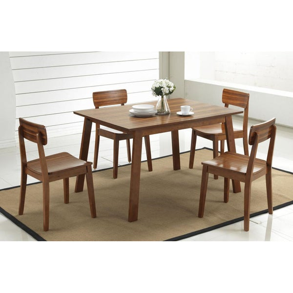 Hagen Zebra Series 5-piece Dining Set