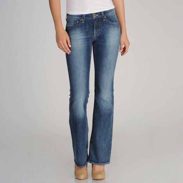 Mavi Women's Low-rise Boot Cut Jeans