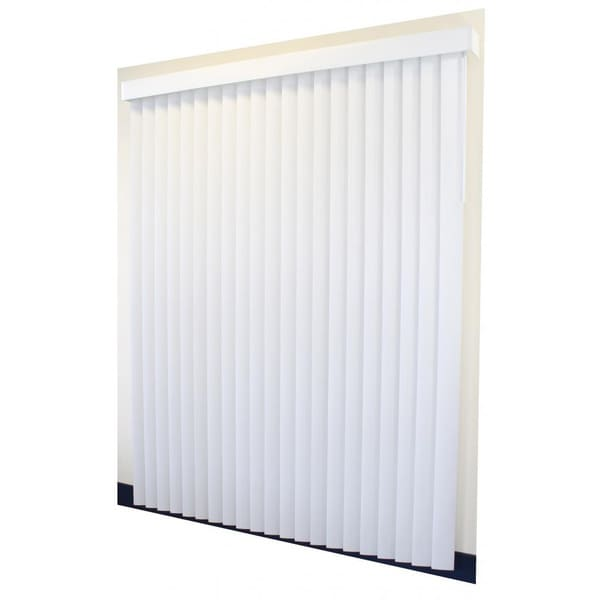 White Vertical Patio Door Blinds Free Shipping Today