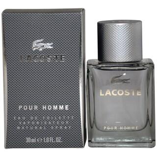 Lacoste Pour Homme Men's 1-ounce Eau de Toilette Spray