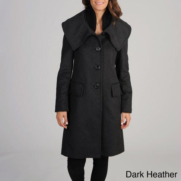 BCBGMaxazria Women's Wool Coat
