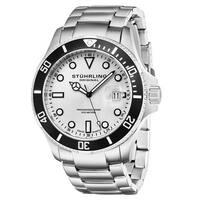 Stuhrling Original Men's Regatta Espora Divers Bracelet Watch