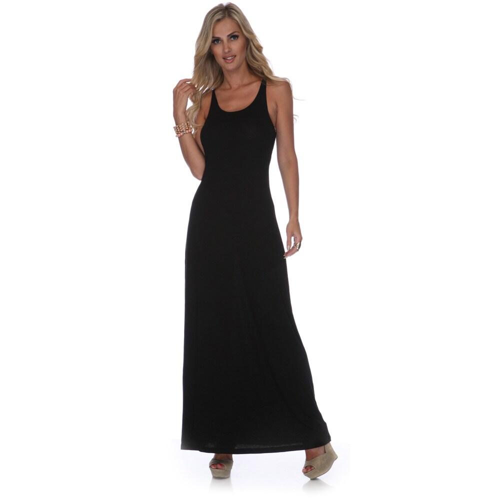 White Mark Womens Karin Maxi Dress