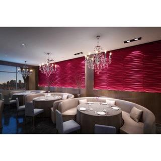 3D Contemporary Wall Panels Inreda Design (Set of 6)